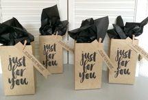 Gift Bags Stampin Up! / Stampin Up!, stamping, crafts, diy, bags, gifts, birthdays