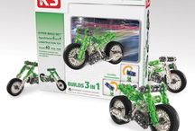 Building Toys / Great toy sets for building cars, truck, planes or anything else you can imagine.