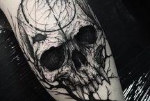 tatuaże goth ja i kasia