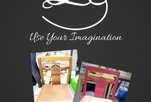 Annie Sloan Painted Furniture Projects / We have a passion for breathing new life into old furniture and making it beautiful and functional again using Annie Sloan Chalk Paints and waxes.