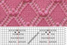 Knit and Crochet - Stitches