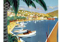 französische Poster
