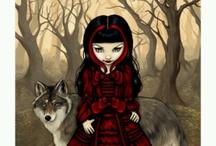Little Red Riding Hood / Art Design Board