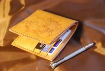 Eagle leather mens bifold wallet