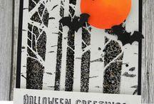 Halloween cards / Halloween cards
