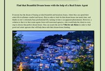 Find that Beautiful Dream house with the help of a Real Estate Agent