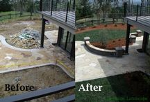 Before and After Landscaping / Pictures of what you can do with a landscape, before and after!