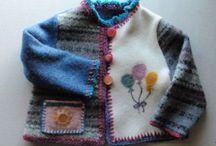 Needle-Felted Sweaters