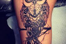 tatoo coruja