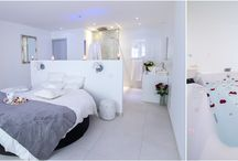 PARADIS BLANC / Un loft romantique, décoration blanche et épurée, un jacuzzi 2 places.... un bon week end en amoureux...