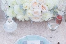 Table settings / Table decor ideas