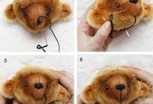 Bear sewing