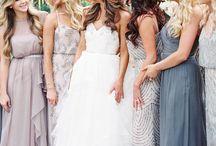 wed bridesmaids dresses