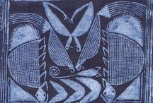 Year 9 - African Art - Wax Resist Designs  / by Meridian Art Department