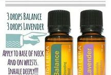 doTERRA Blends / Blends for smelling and things without rollers