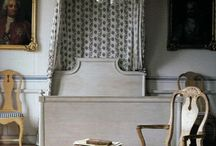 Chambre inspirations - Bedroom inspirations / (styles country chic, romantic, manor, charm, gustavian, victorian - campagne cottage chic, romantique, manoir, charme, château, victorien, gustavien)