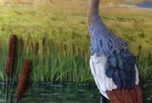 Exotics / Animals . Mix Media Acrylic