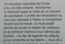 EDUCATION / Enfants, Adolescents, Parents, Scolarité...