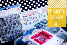 Muffin Tin Meals / A board for pinning all the clever ways we come up with to make food visually attractive for our picky little eaters.  / by Sierra @ H is for Homeschooling