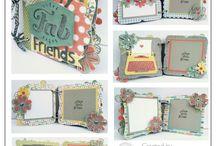 CTMH Mini Albums / mini albums, mini books, scrapbooking, papercrafting, ctmh, Close To My Heart, papercraft designs, papercrafting templates, stampinbuds, mini album kits, craft blogs, diy, cricut, handmade cards, handmade coupon books, dating ideas