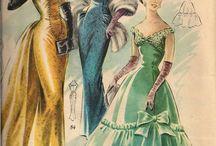 Moda de los años 1940