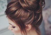 Toplanmış saçlar