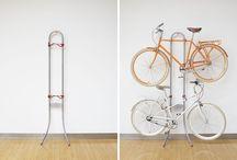 Bicicleta em casa