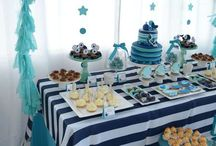 All Blue baby shower