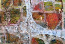 schilderijen van stof