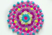 マンダラ かぎ針編み