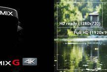 4K / Hlavnou výhodou nie je ani tak konečný výstup ako rozšírené možnosti postprodukcie a reálny výsledok aj pre zobrazenie v nižšom rozlíšení. Obraz 4K má približne 4-násobné rozlíšenie oproti súčasnému Full HD (3840×2160 vs. 1920×1080), čo nepochybne prináša niekoľko nových nezanedbateľných výhod.