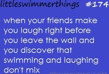 Swimming rule