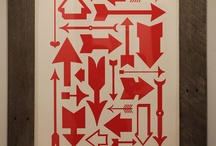 Letterpress Typography Print