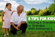 Kids and Dementia/Alzheimer's / Dedicated to talking to / teaching children about Dementia & Alzheimer's