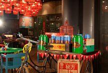 Asian cafes