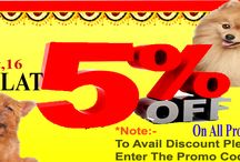 Deewali Offers / Special Diwali Bonanza Offer - Avail Flat 5% Discount on www.home4pet.com from 10th to 31st October.