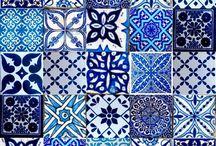 Marokkoi csempe minta