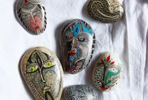 Stone and Pebble Art / by Sam Nishoff