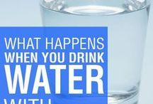 Drink Water benefit