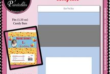Printable Paper Craft Templates at CUdigitals.com / Printable Paper Craft Templates wrappers and gifts used to create and design your own DIY projects.  http://cudigitals.com