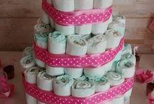 Minhas decorações / Decorações de chá de bebê, festas e afins.