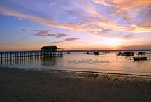 Beaches in East Lombok / Wonderful beaches in the East Lombok.