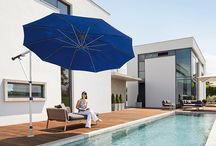 Umbrellas / May Umbrellas for multi-purpose sunshades, used and proven in all kinds of weather, day by day, worldwide.