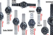 CURVED ENDLINK REPLACEMENT BANDS / SELECTED SEIKO MODELS : SKX007, SUMO, TUNA DIVERS