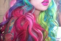 awesome hair / all the hair colours and styles i think are rad!