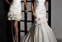 Svatební šaty - odepínací