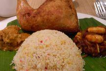 말레이시아의 쌀밥 '나시르막' / 나시르막