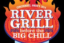RIVER GRILL BEFORE THE BIG CHILL / Cincinnati has always known how to barbeque but now we're proving it Kansas City style!  The River Grill before the Big Chill  Cincinnati's first Ohio State Championship KCBS sanctioned contest  with over $20,000 in cash prizes!