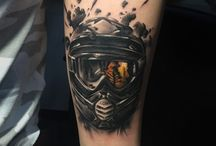 motos tattoo