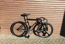 My fixed gear / MetalTech Columbus Carbon Cinelli  Unicanitor Hed 3 Heyes  3t Shimano Nukeproof Continental  Chris king Fabio Duarte  Duarte Stronglight